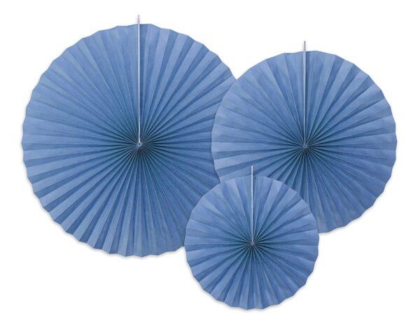 Διακοσμητικές Βεντάλιες μπλε