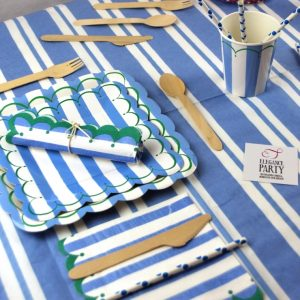 Toot Sweet Blue Stripe