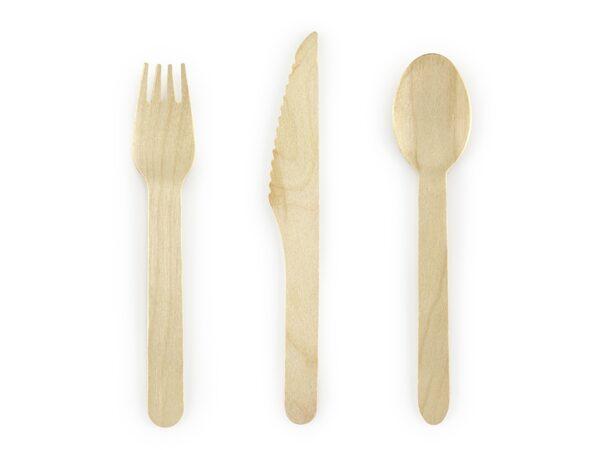 ξύλινα μαχαιροπήρουνα