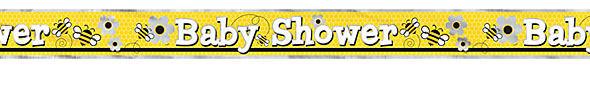 Banner Baby Shower Μελισσούλες 3.65μ.