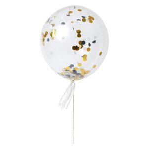 Latex Μπαλόνια με Κομφετί ή Πομ Πομ